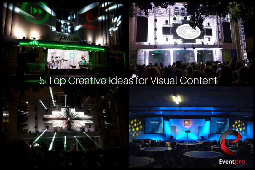5 Top Creative Ideas for Visual Content