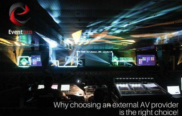 Why choosing an external AV provider is the right choice